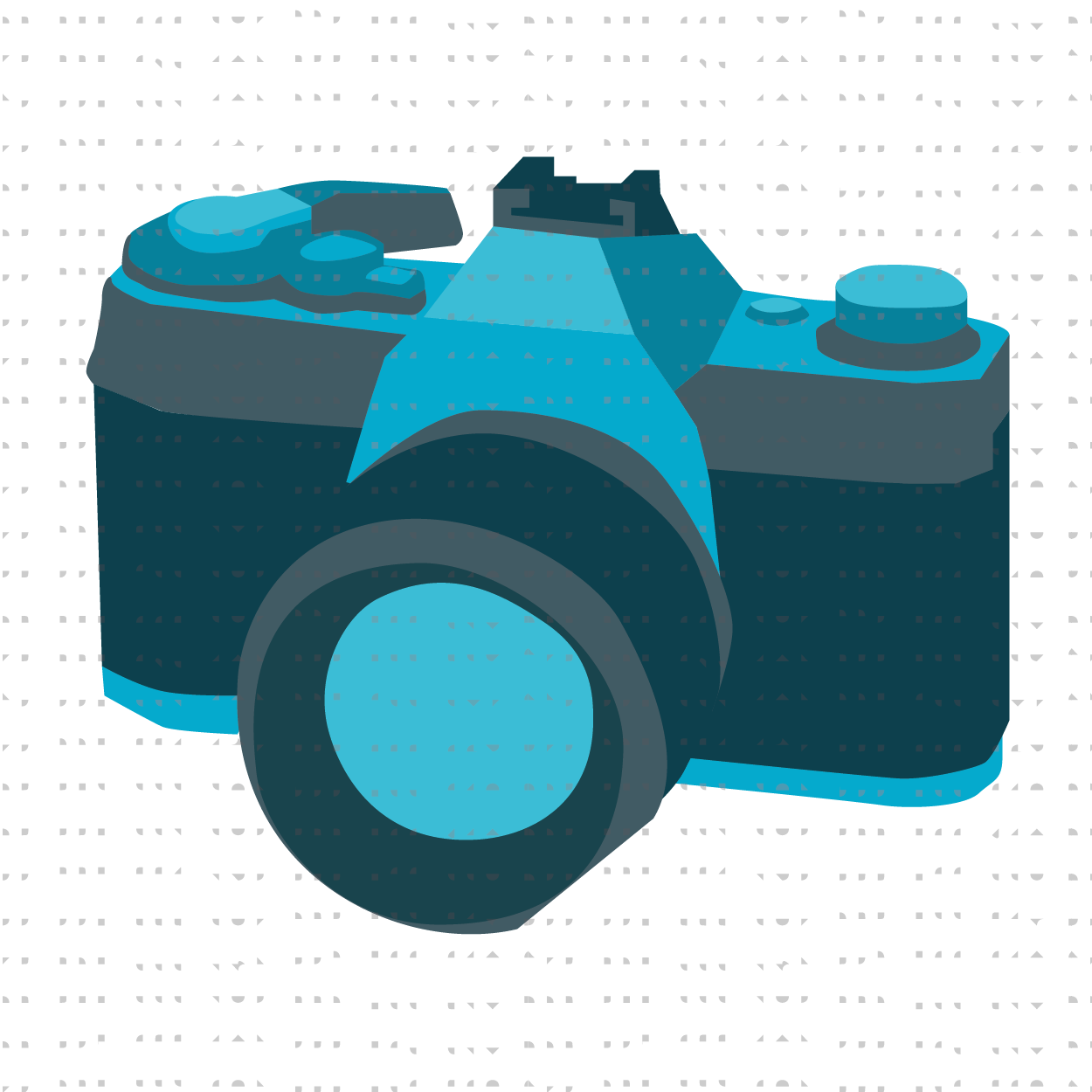 Camera illustration for Students of the World