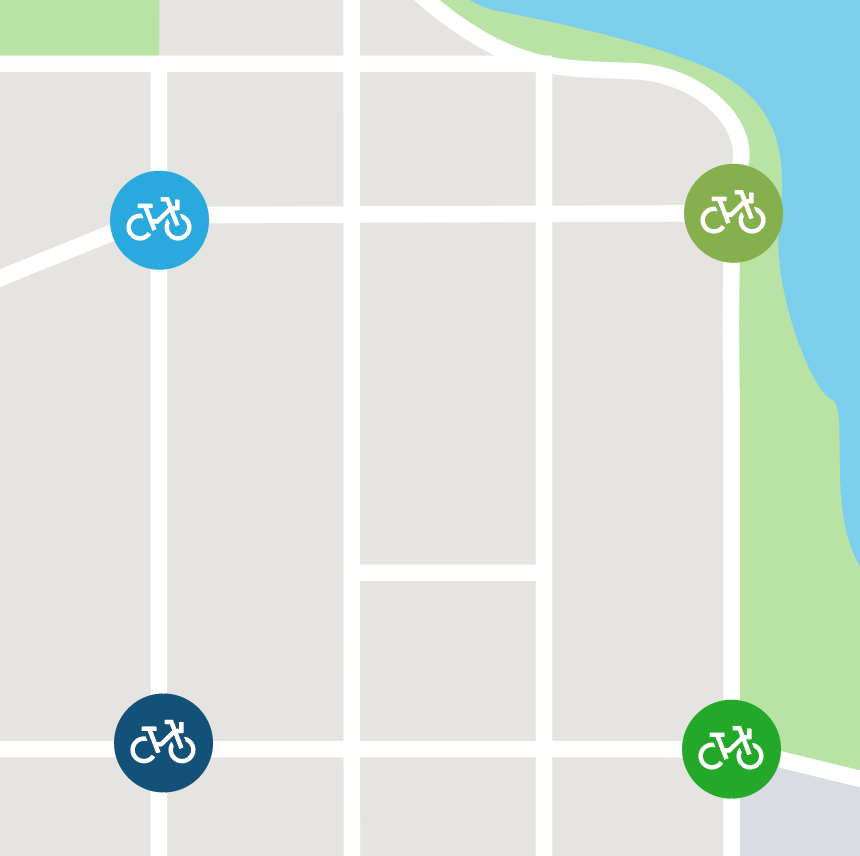 Bike Share, Where?